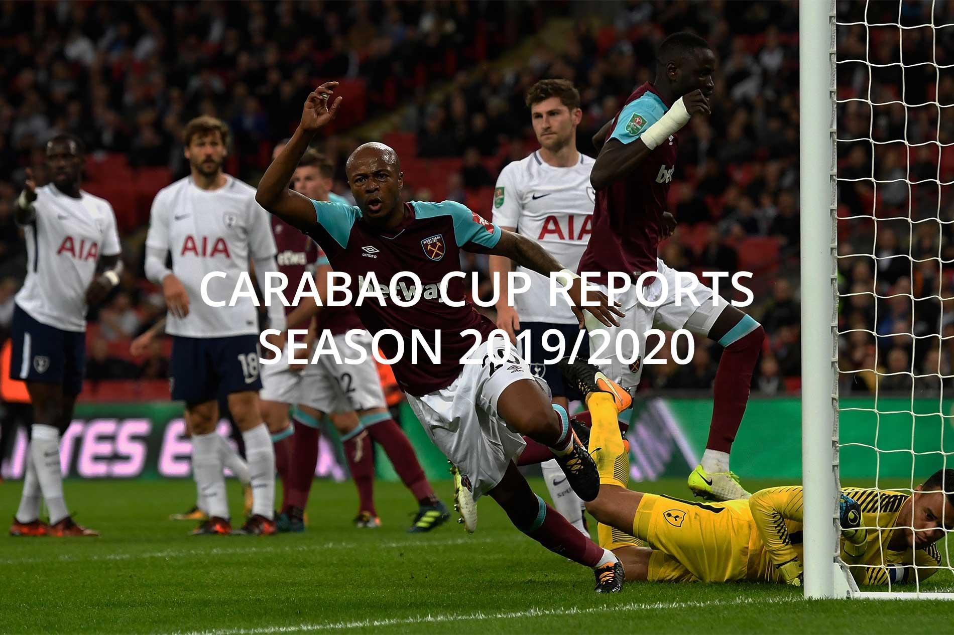press bureau tv carabao cup reports